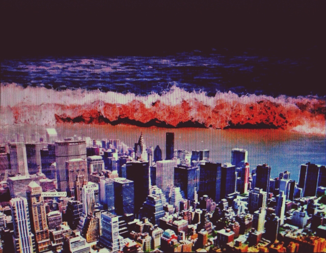tsunami and the city