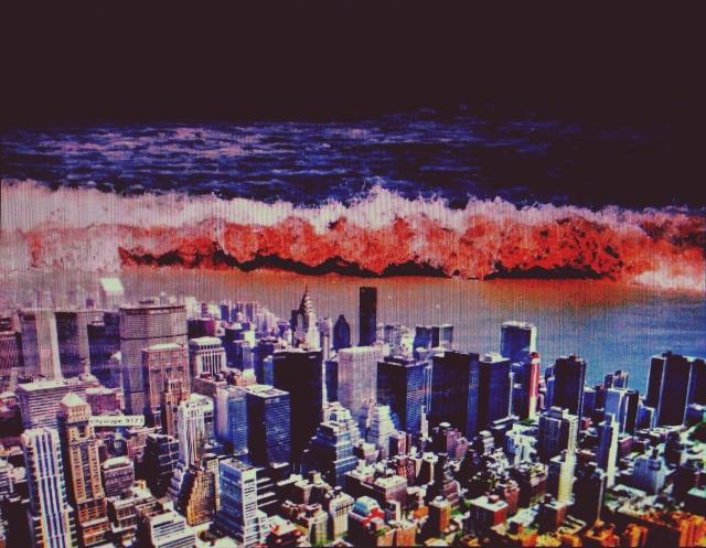 tsunami and the city